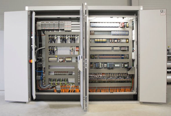 LAMILUX building control systems