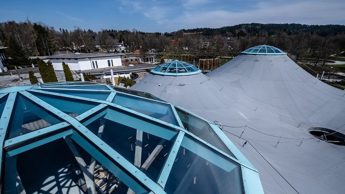 LAMILUX Glass Roof PR60 - Solemar Bad Duerrheim