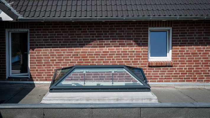 LAMILUX Glass Skylight Pyramide / Hipped- House Hamburg