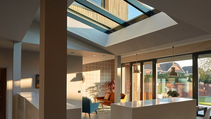 LAMILUX Glass Roof PR60 Passivhaus - Potton Show Homes St. Neots