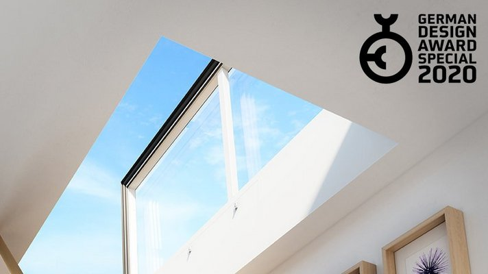 LAMILUX Flat Roof Exit Comfort Swing inside