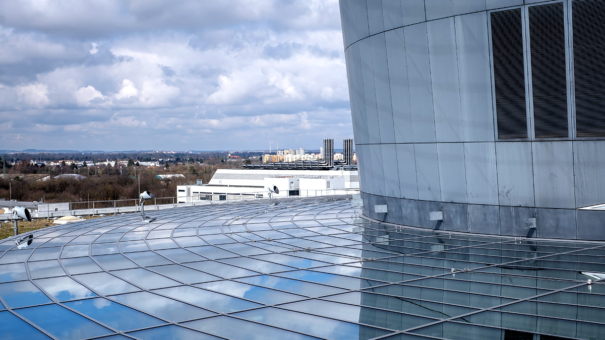 LAMILUX Glass Roof PR60 at the Research and Innovation Center of the BMW Group in Munich (Germany)