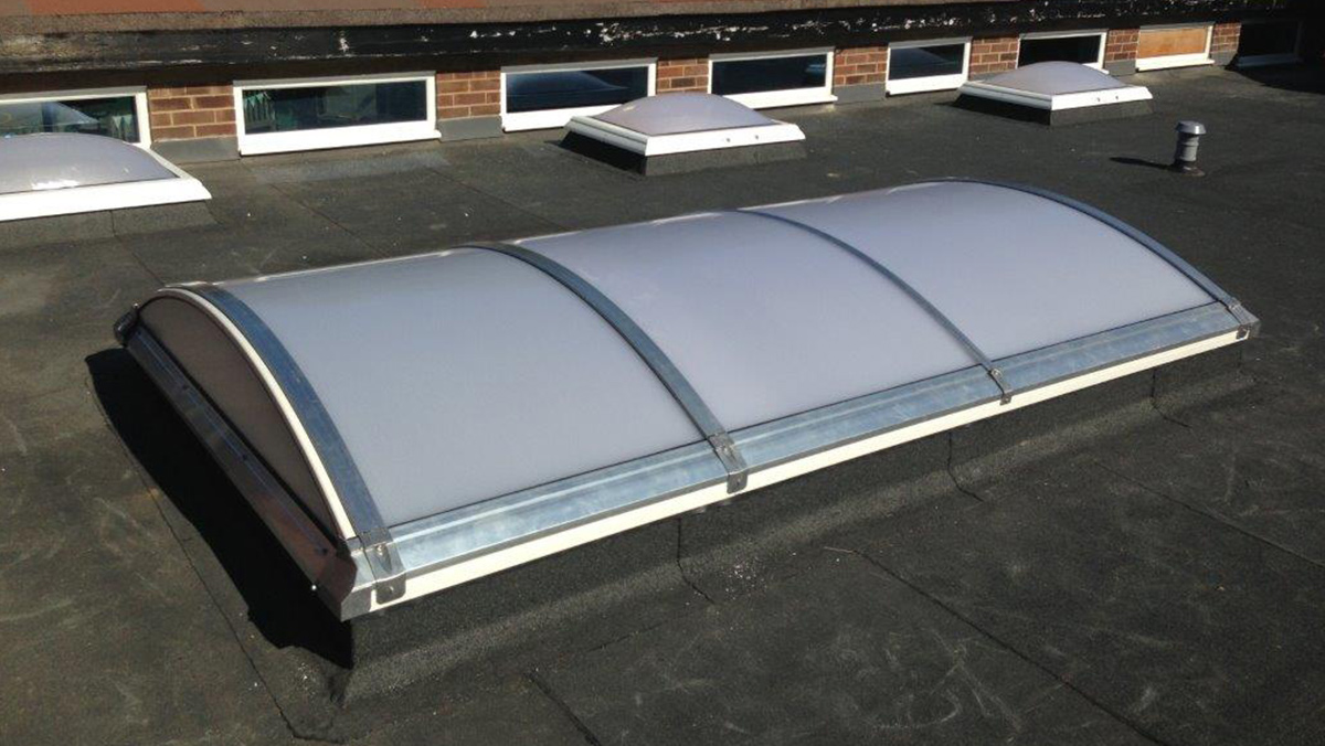 LAMILUX Rooflight Dome at the Bentley St. Pauls School in Brentwood
