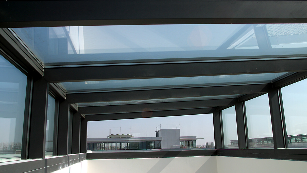 LAMILUX Solutions For Smoke And Heat Exhaust Ventilation at the Multi-storey car park in Schwabing (Germany)