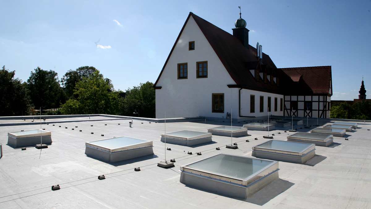 LAMILUX Solutions For Renovation at the Elementary School in Zapfendorf (Germany)